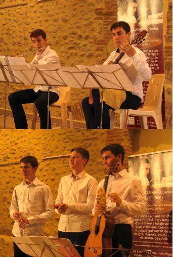 Concert Jeunes prodiges à Brouilla